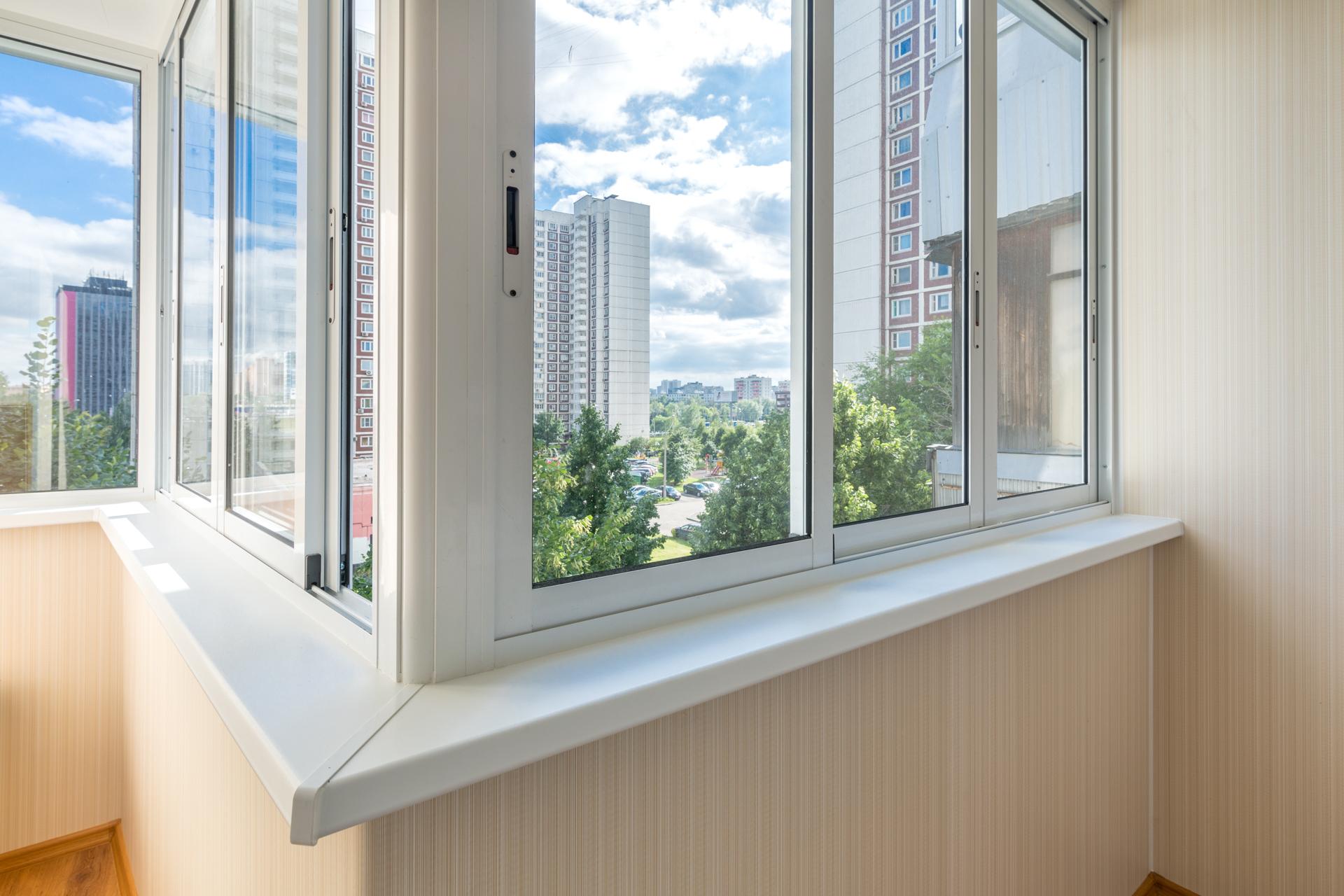 Холодное остекление балконов в оренбурге от 2000 за кв.м..